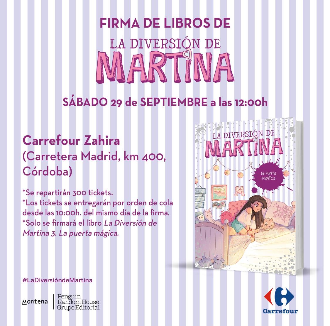 Firma de libros 29 de septiembre