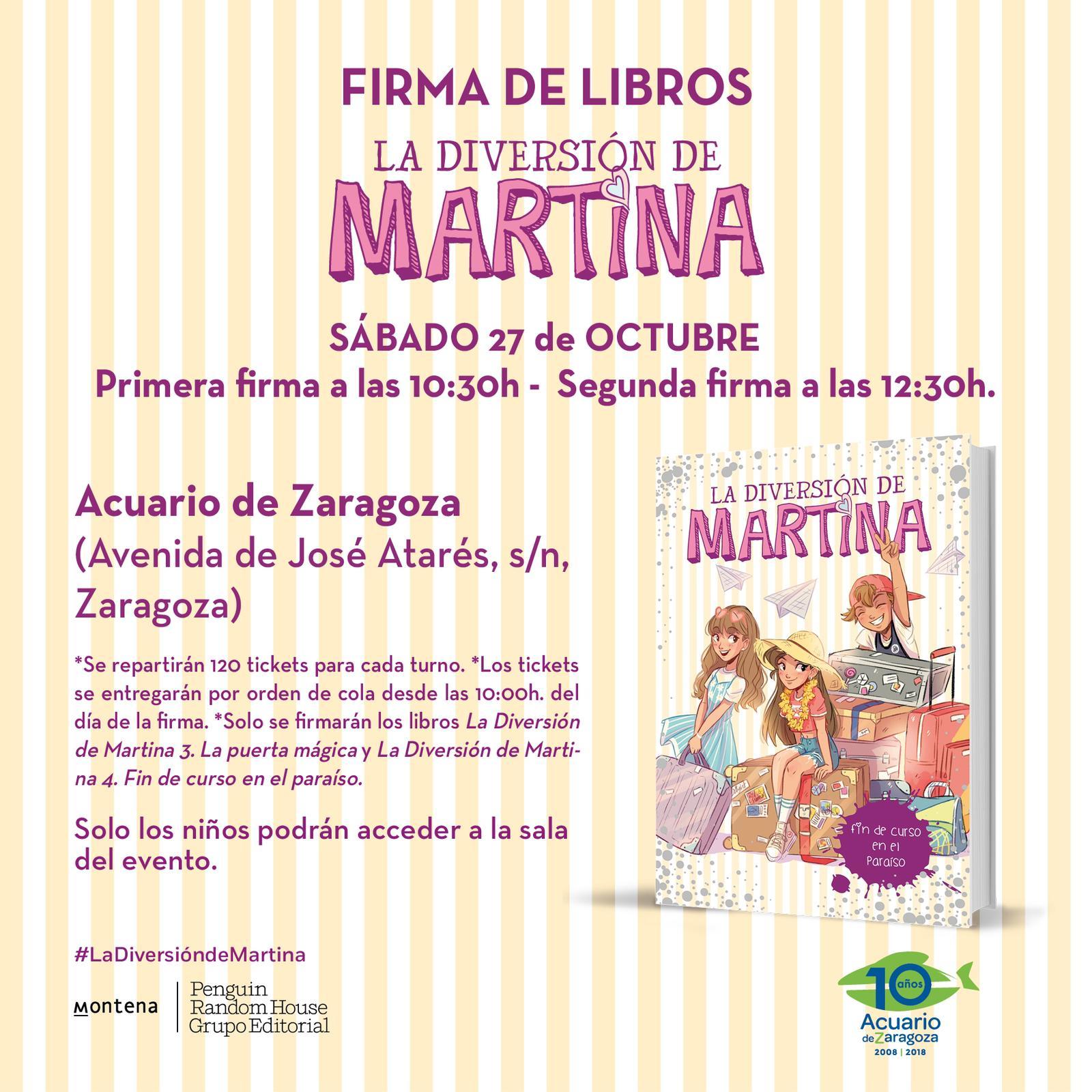 Firma de Libros Sábado 27 de octubre
